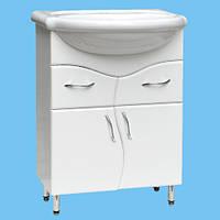 Тумба для раковины в ванную комнату Т-08 белая или другой цвет с ящиками