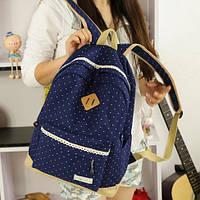 Рюкзак синий в точку M302