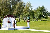 Свадебная арка, большая арка для выездной церемонии