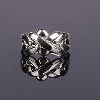 Серебряное кольцо головоломка - подарок для любимой от Wickerring