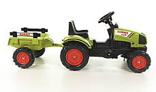 Детский трактор на педалях Falk 2040C CLAAS Arion 410, фото 2