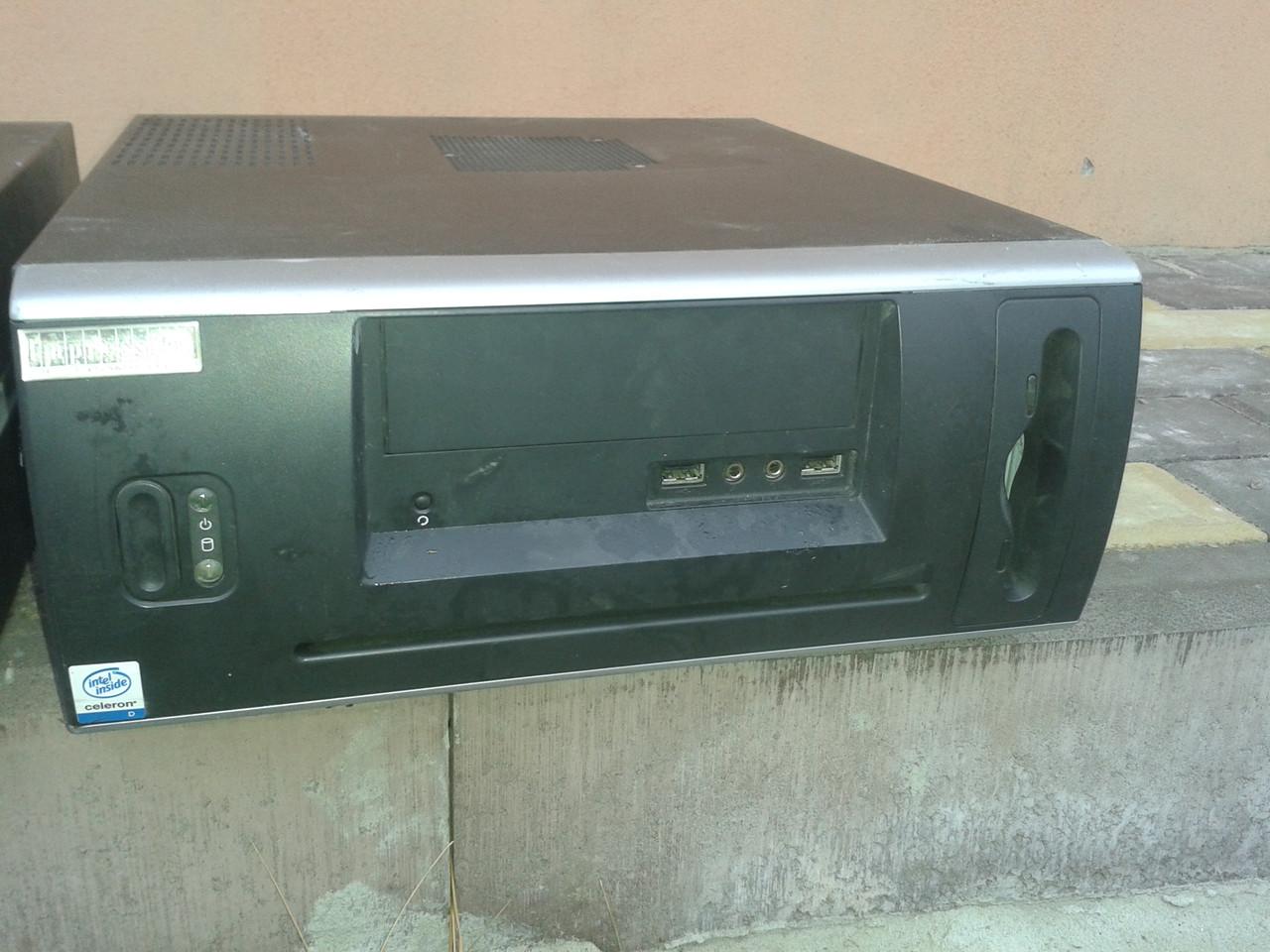Компьютерный корпус Slim, бу