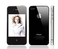 Китайская копия iphone 4G, 2 сим, Fm, Jawa.