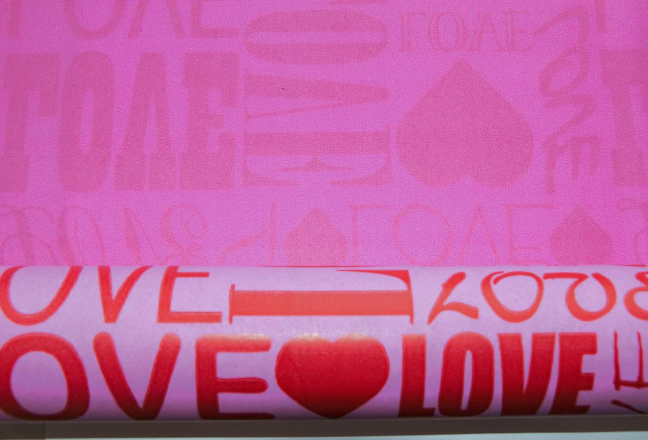 """Крафт-бумага подарочная Love Любовь 10 м/рулон - интернет-магазин """"Patricat"""" в Харькове"""