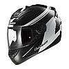 Мотошлем LS2 FF352 ROOKIE FLUO Black-White, XS
