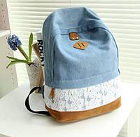 Джинсовый рюкзак Feminina