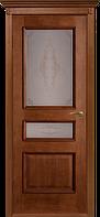 Двери шпонированные Вена-Ш ПО (орех).