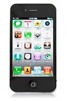 Китайский iPhone 4 GS (4S), 2 сим, Tv, Fm, Jawa.