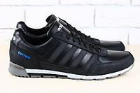 Кроссовки спортивные   Adidas мужские чёрные