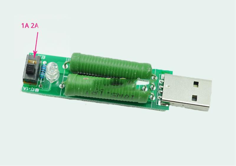 Нагрузка USB, нагрузочный резистор, нагрузка для тестера