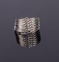 Серебряное кольцо-головоломка - подарок для любимой от Wickerring