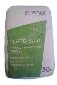 Штукатурка гипсовая Plato Start 30 кг, фото 2