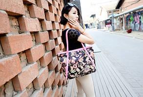 Стильные сумки с цветами, фото 3