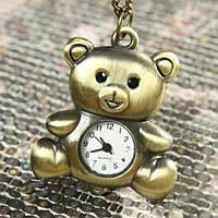 Карманные часы - подвеска Ведмежонок