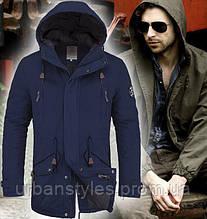 Мужская куртка парка весенняя   4005