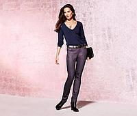 Гламурные брюки Slim Fit от тсм Tchibo размер 40 евро наш 46
