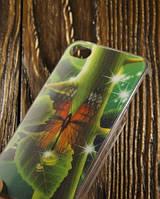 """Пластиковый 3D Чехол для Apple iPhone 4/4S """"Butterfly"""""""
