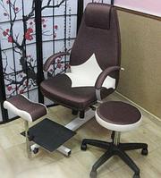 Педикюрные кресла, подставки для ванночек