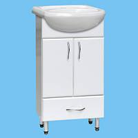Тумбочка для ванной под умывальник Т-19 изготовление нужного размера и цвета