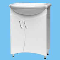 Тумбочка для умывальника в ванную комнату Т-26 возможна покраска в цвет или нанесение лазерного рисунка