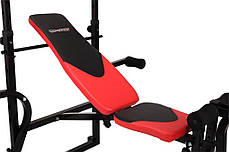 Тренировочная скамья HS-1070B с тягой, фото 3
