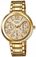 Женские часы CASIO Sheen SHE-3034GD-9AUER оригинал