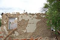 Демонтаж домиков, сараев и зданий