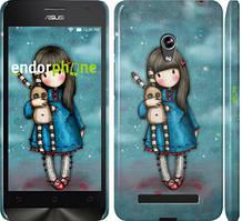 """Чохол на Asus Zenfone 5 Дівчинка з зайчиком """"915c-81"""""""