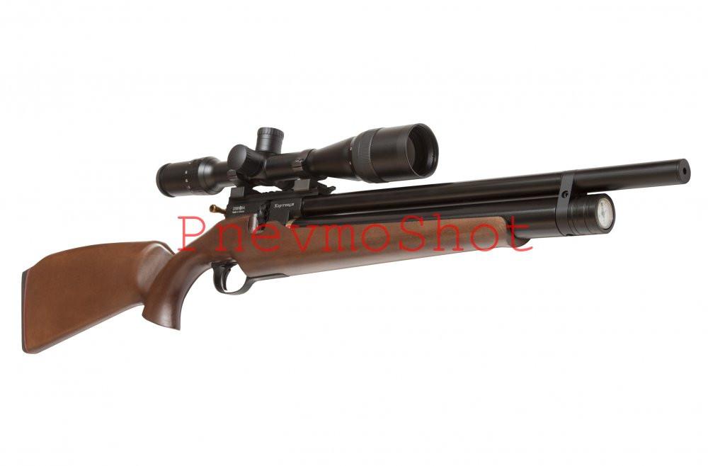 Гвинтівка пневматична PCP Хортиця Classic 4,5 мм