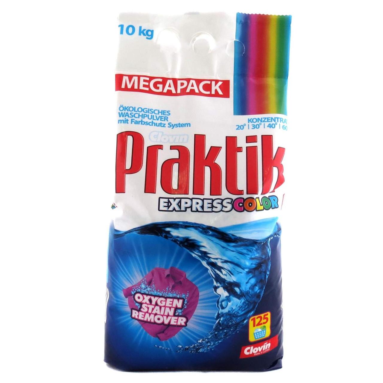 Стиральный порошок Praktik Express color для цветных тканей
