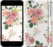 "Чехол на iPhone 6 Plus цветочные обои v1 ""2293c-48"""
