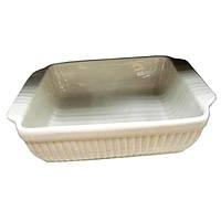 Квадратная фарфоровая форма для выпечки BergHOFF - Bianco, 24,5х20,5х6 см (1691060 )