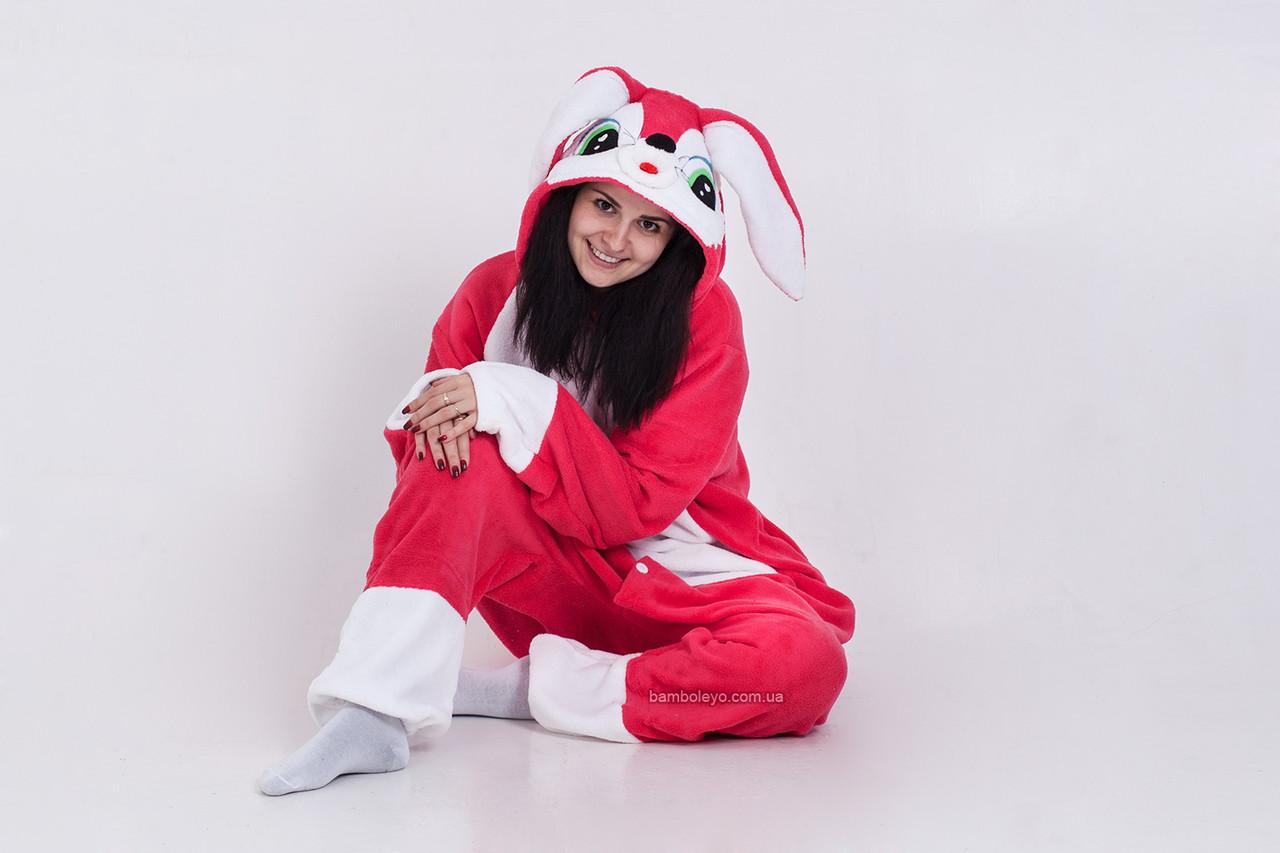 Авторская пижама Кигуруми Зайка Люси. Для взрослых и детей  продажа ... b7245c3346e7b