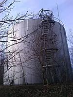 Резервуар, Емкость, для хранения ГСМ, воды, металлоконструкции, ж/д цистерны Резервуар РВС (резервуар вертикал