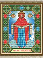 """Набор алмазной вышивки икона """"Покрова Пресвятой Богородицы"""""""