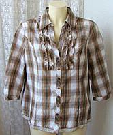 Рубашка женская хлопок бренд Canda C&A р.48 5408