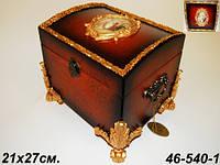 Деревянный сундук  Lefard 46-540-1