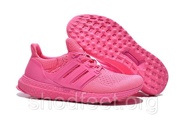 Женские кроссовки Adidas Ultra Boost All Pink
