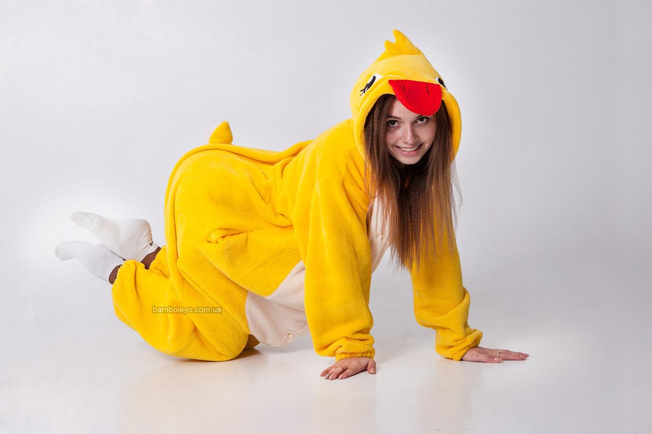 Авторский Кигуруми пижама-костюм Уточка Минуточка. Для взрослых и детей.  Хенд Мейд - 253d0e8d1a21a