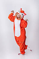 Костюм - пижама Кигуруми Лиса Алиса. Для взрослых и детей 7d30af57d4d1c