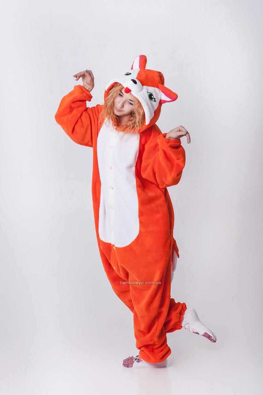 c1926f8aff426 Костюм - пижама Кигуруми Лиса Алиса. Для взрослых и детей - Бамболейо в  Киеве