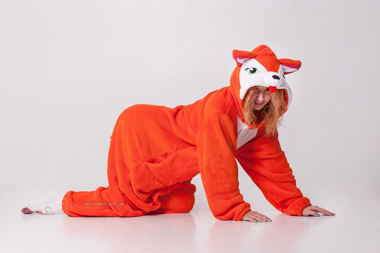 Костюм - пижама Кигуруми Лиса Алиса. Для взрослых и детей  продажа ... 446efa58c2106