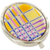 Непревзойденное карманное зеркальце Jardin D'ete 98-0558, серебристый