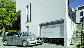 Секционные гаражные ворота Hormann RenoMatic 2016 Sadgrain 2500х2125