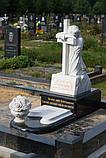 Мраморный крест с ангелом, фото 2