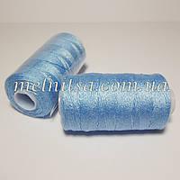 Нить джинсовая, цвет голубой, №281