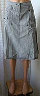 Юбка женская модная хлопок миди бренд Yessica C&A р.46 5420, фото 1
