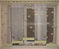 Японские занавески Барашки на петлях, фото 1