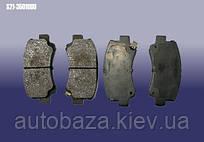 Колодки тормозные передние S21-3501080