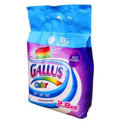Стиральный порошок Gallus color (Галлус)2,8кг , фото 2
